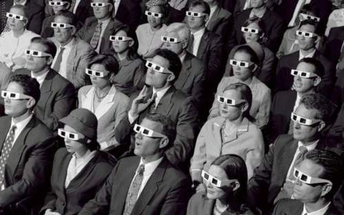 3D movie audience2