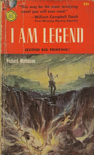 I Am Legend paperback cover #2