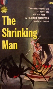 Shrinking Man paperback cover 2