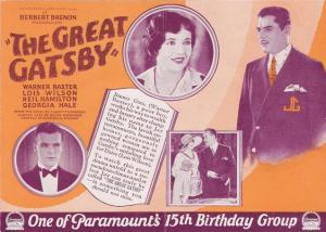 Gatsby 1926 - lobby card