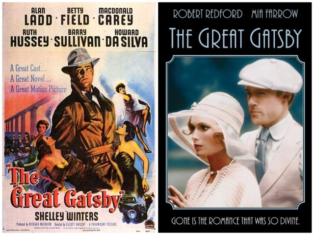 Gatsby posters-1949 + 1974