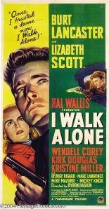 I Walk Alone-poster
