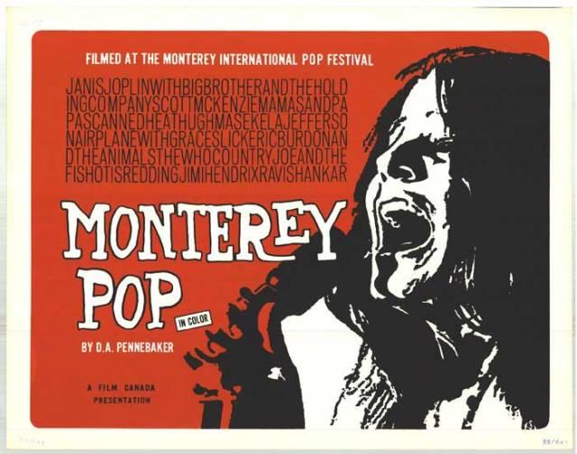 Monterey Pop - poster2