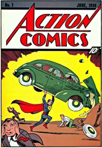 Action Comics #1 - cover