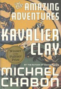 Kavalier + Clay - book cover