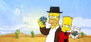 Breaking Bad-Simpsons