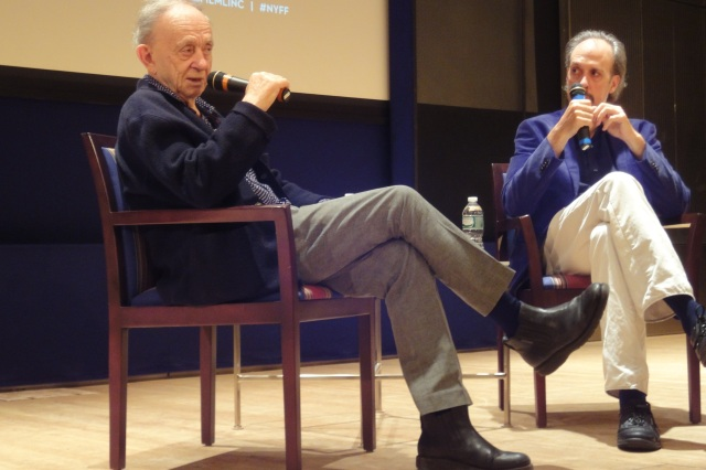 Fred Wiseman & Kent Jones on Sunday, September 29, 2013