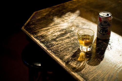 Beer + shot