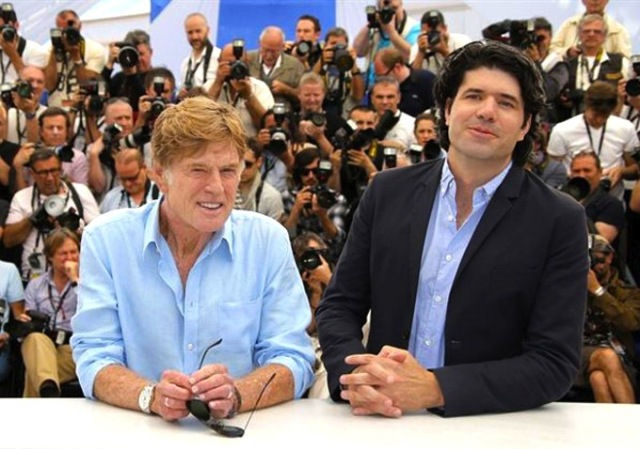 Robert Redford & J.C. Chandor - Cannes 2013