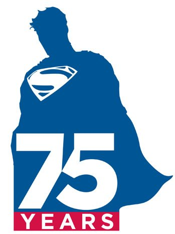 Superman 75 logo