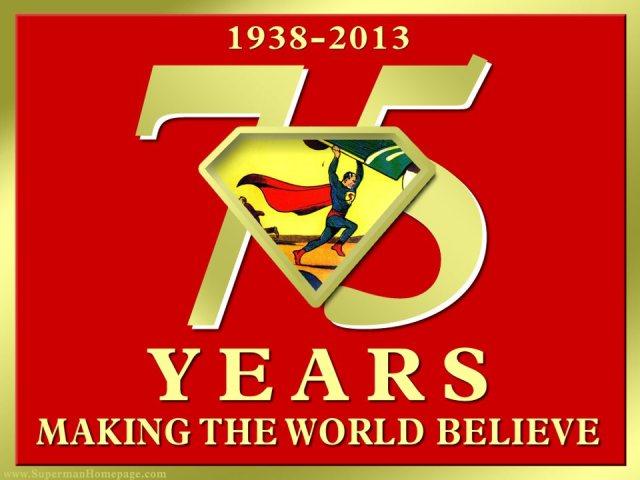 Superman 75 logo4
