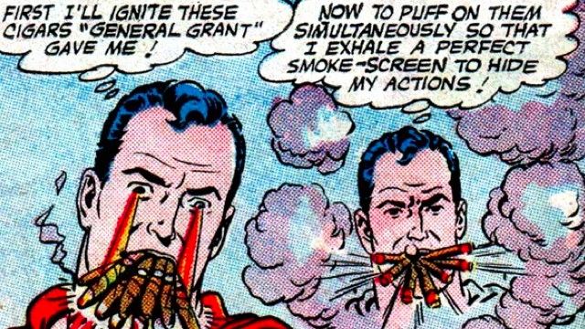 Superman comics-Cigars