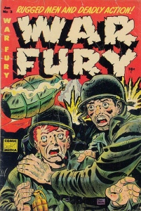 War Fury-comic cover