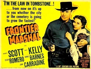 Frontier Marshall-poster