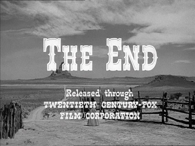 My Darling Clementine-end title