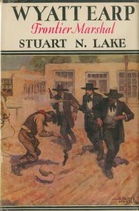 """Wyatt Earp """"Frontier Marshall"""" book2"""