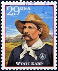Wyatt Earp postage stamp