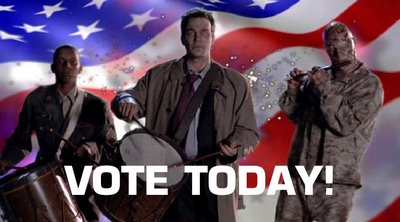 "Homecoming-""Vote Today"""