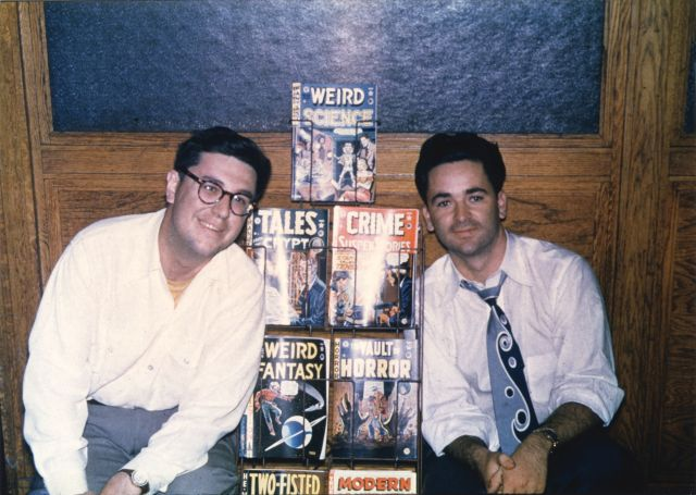 Bill Gaines (L) & Al Feldstein (R), 1950