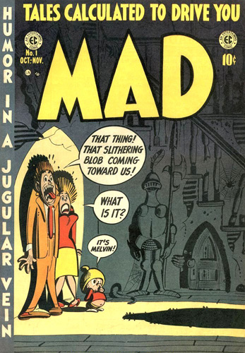 Mad's 1st issue, Oct/Nov 1952