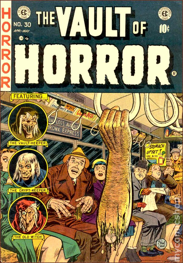 Vault of Horror-subway cover