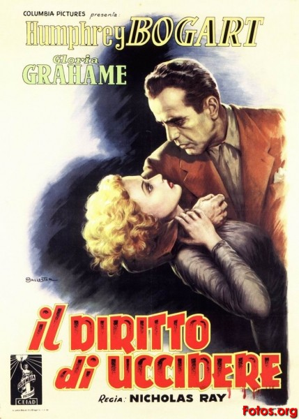 In a Lonely Place-Italian poster