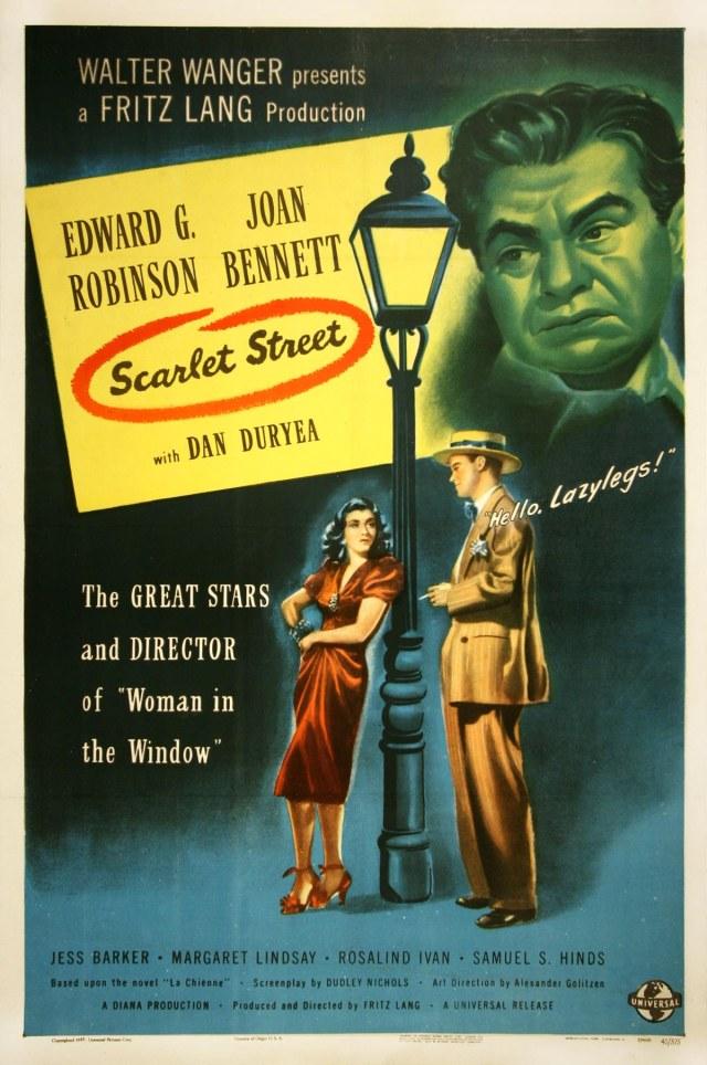 Scarlet Street-poster