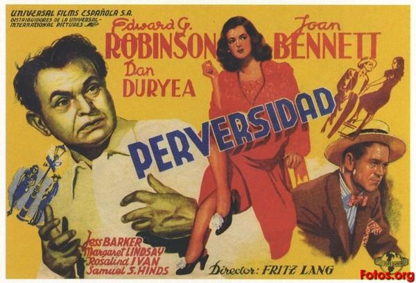 Scarlet Street-Spanish poster