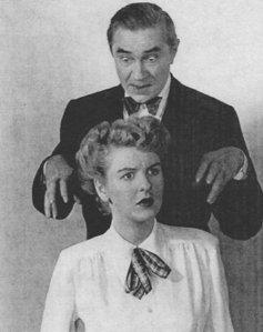 Elaine Stritch & Bela Lugosi 1947