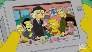 Elaine Stritch on The Simpsons