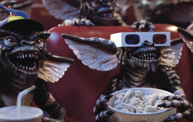Gremlins at 3D movie