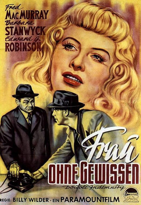 Double Indemnity-German poster2