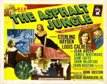 Asphalt Jungle-poster
