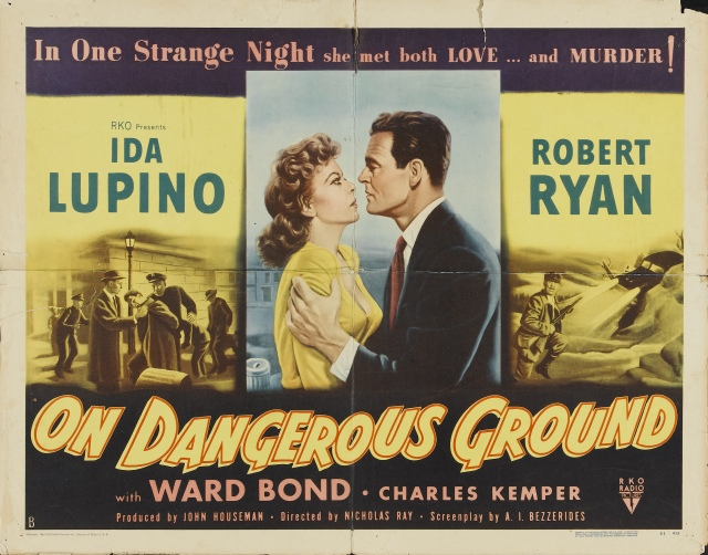 On Dangerous Ground-poster