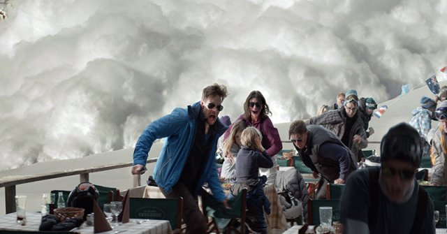 Force Majeure-the avalanche