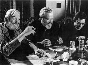 John Huston, Welles, Peter Bogdanovich
