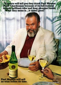 Orson Welles-1981 wine ad