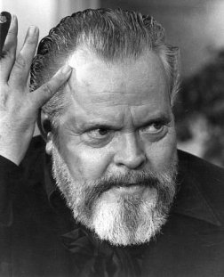Orson Welles-bearded