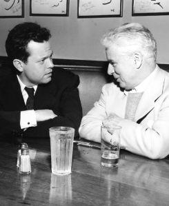 Welles & Chaplin, 1947