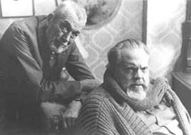 Huston & Orson Welles