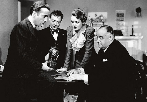 Maltese Falcon-group shot