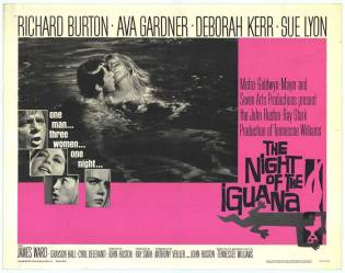 Night of the Iguana-poster