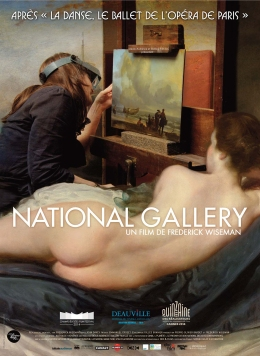 National Gallery-French poster