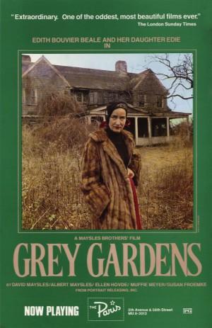 Grey Gardens 1975-poster