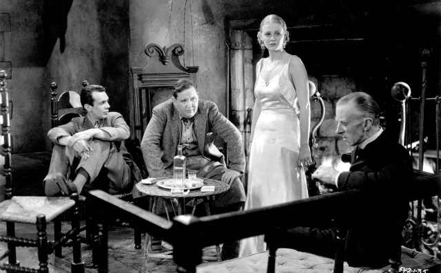 Raymond Massey, Laughton, Gloria Stuart, Ernest Thesiger