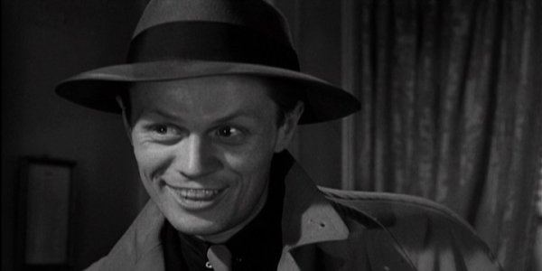 "Richard Widmark as Tommy Udo, ""Kiss of Death"" (1947)"