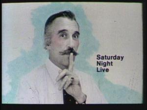 Christopher Lee - SNL 1978
