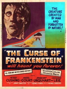 Curse of Frankenstein-poster2