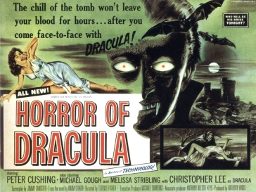 Horror of Dracula poster3