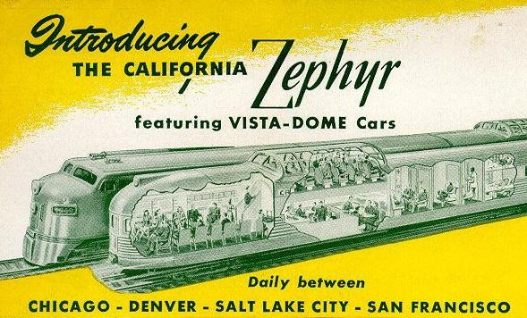 California Zephyr ad